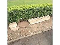 Decorative Stone Garden Edges