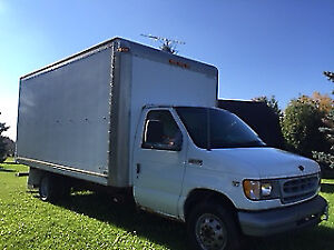 2002 Ford E350 Cube Van Trade for Honda dirt bike
