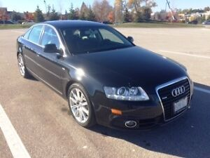 2010 Audi A6 3.0T Quattro S line with Nav and backup camera