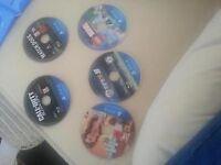 5 playstation4 games