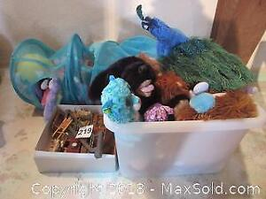 Doll Furniture And Stuffed Animals A