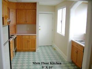 Main Floor 3 Bedroom House For Rent