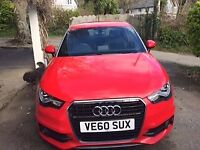 Audi 1.4 Sline Automatic Red with silver very good condition for sale  Truro, Cornwall