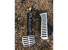 VW GOLF MK6 R SPORT FOOT PEDDLES FOR SALE OR FITTED THANKS CALL PARTS