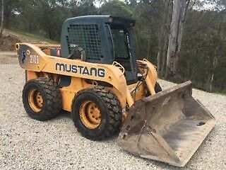 2010 Mustang 2109 Skid Steer Loader 115hp heavy duty 4n1 bucket Upper Brookfield Brisbane North West Preview