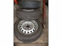 Van Tyres for sale commercial good tread on Mercedes Vito