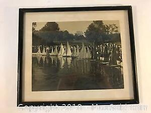 Antique Model Sailboats Photo