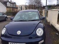 Volkswagen Beetle 2003 MOT till March 2018