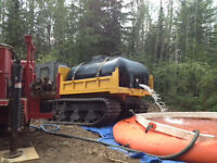 Forest Fire Water Hauling and Supply