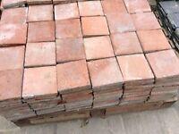 Reclaimed quarry tiles: £1.00 per tile