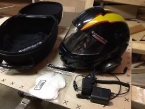Skidoo Modular Helmet with communicator sz. medium