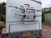Omnistor Bike rack for motorhome or caravan