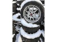 PEUGEOT 206/207 15 INCH ALLOY WHEELS 4 STUD 195/55R15 TYRES SET OF FOUR
