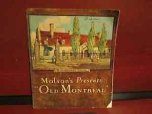 """Molson's presents """"Old Montreal."""""""
