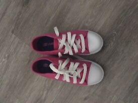 Pink Heelys size 12