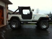 1987 JEEP YJ WITH CHEV 350