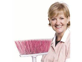 Cleaner job part time in private houses Uxbridge UB8 + West Drayton UB7