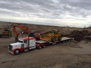 Low Bed Heavy Haul Services RGN Double Drop jeep and Booster Edmonton Edmonton Area image 4