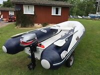 Wetline inflatable rib