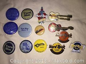Lot Of Vintage Pinback Buttons A