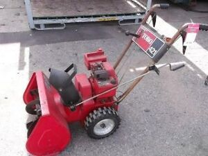 """RECYCLE CENTRAL """"Buying """" non-run snow blowers  """"pay cash"""""""