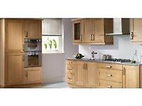 ~Oak Shaker kitchen with 18mm Rigid Units