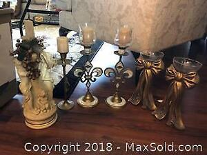 Decorative Candle Holders A
