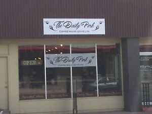 Coffee Shop for Sale in Vanderhoof-Price REDUCED for quick sale