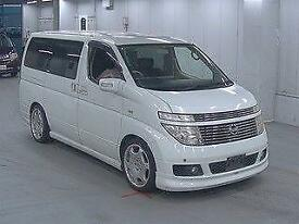 NISSAN ELGRAND 3.5 E51 AUTO VG AERO KIT 8 SEATER TWIN POWER DOORS LOW MILES