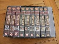 North and South VHS Full Boxed Set (Warner Brothers) used