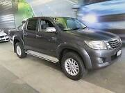 2012 Toyota Hilux GGN25R MY12 SR5 Double Cab Grey 5 Speed Auto Osborne Park Stirling Area Preview