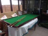 Junior table top billiards/ snooker table for sale