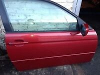 02 BMW E46 COMPACT BOTH DOOR AVALIABLE ONLY SHELL EACH £20 POUND
