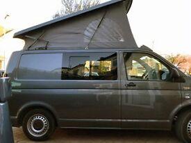 VW Campervan T5 For Hire Sleeps 4 (Duggie)