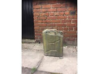 Old Style Petrol / Deisel Container