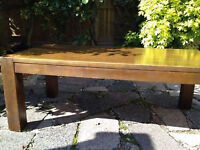 House Clearance: Real wood stlylish coffee table