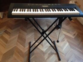 Casio CTK - 1100 with STagg adjustable stand