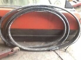 Hydraulic Breaker hoses used complete with couplings