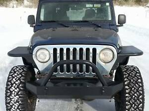 Jeep TJ/YJ Front and Rear Tube Fenders With Skins (DIY)