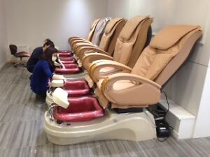Barber chairs Salon furniture & Equipment, pedicure chairs West Island Greater Montréal image 8