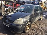 renault clio 2005 1.2 petrol black 3dr Breaking For Spares - wheel nut