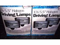 Car spotlights unused come compiete wth box.4spotlights £30