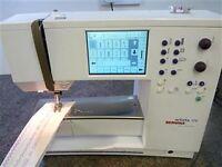 high end bernina artista 170 computerized sewing machine