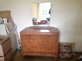 Vintage Style Dressing Table/Chest of Drawers. Good condition.