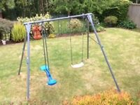TP Giant Swing Frame with a Swing Seat, Baby Seat and Skyride.