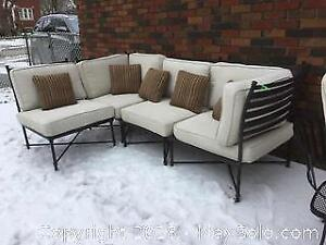 Outdoor Sectional Couch - C