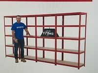 TWO RACKING UNITS - Suitable for Garage, Small Unit etc