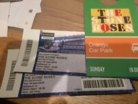Stone Roses VIP Hospitality Tickets, dine with the rich and famous Sunday 19th June