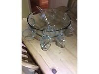 Anchor punch bowl with matching mugs 18pc x3 avaliable.