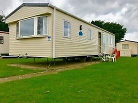 Amazing 2012 2 bed caravan ready to go on Ashcroft Coast come down and view it now.